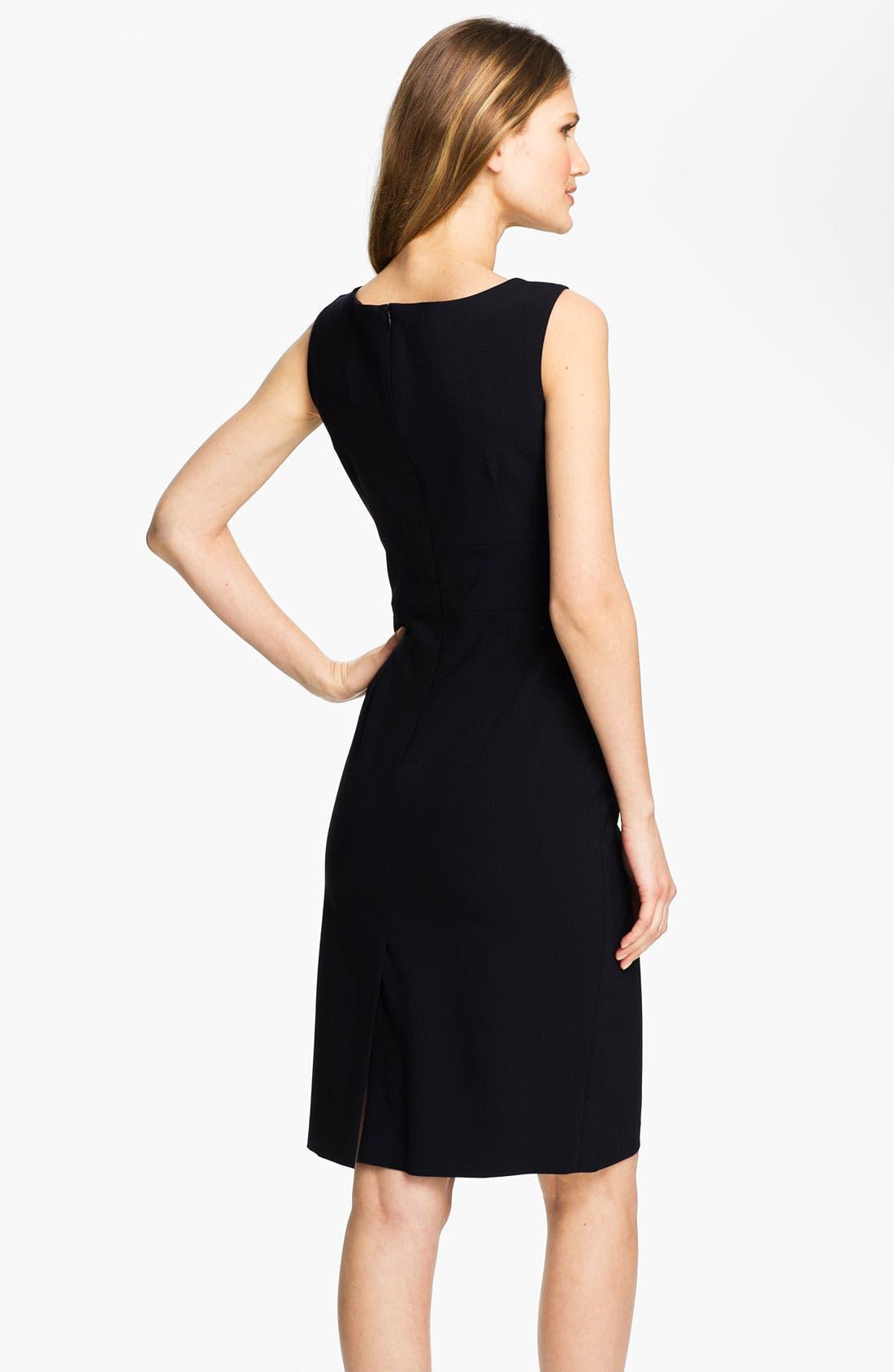 Alternate Image 2  - Santorelli 'Luna' Sheath Dress