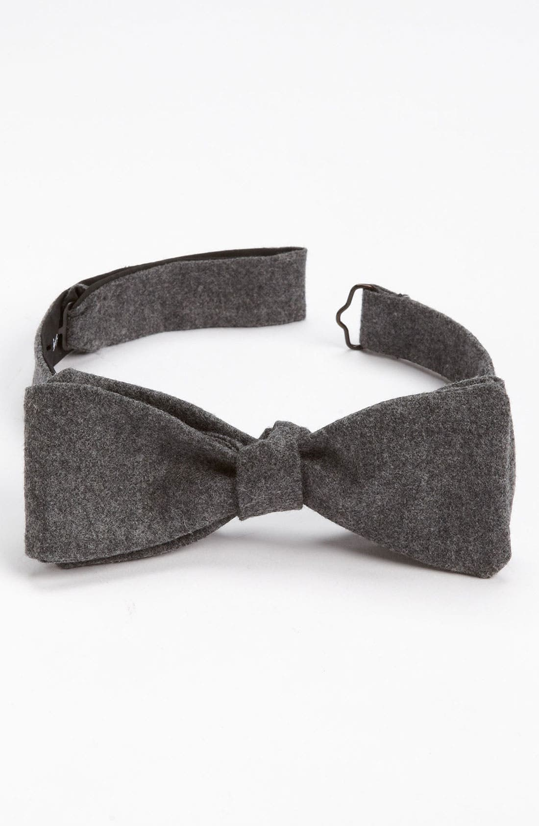 Main Image - David Hart Wool Bow Tie (Online Exclusive)