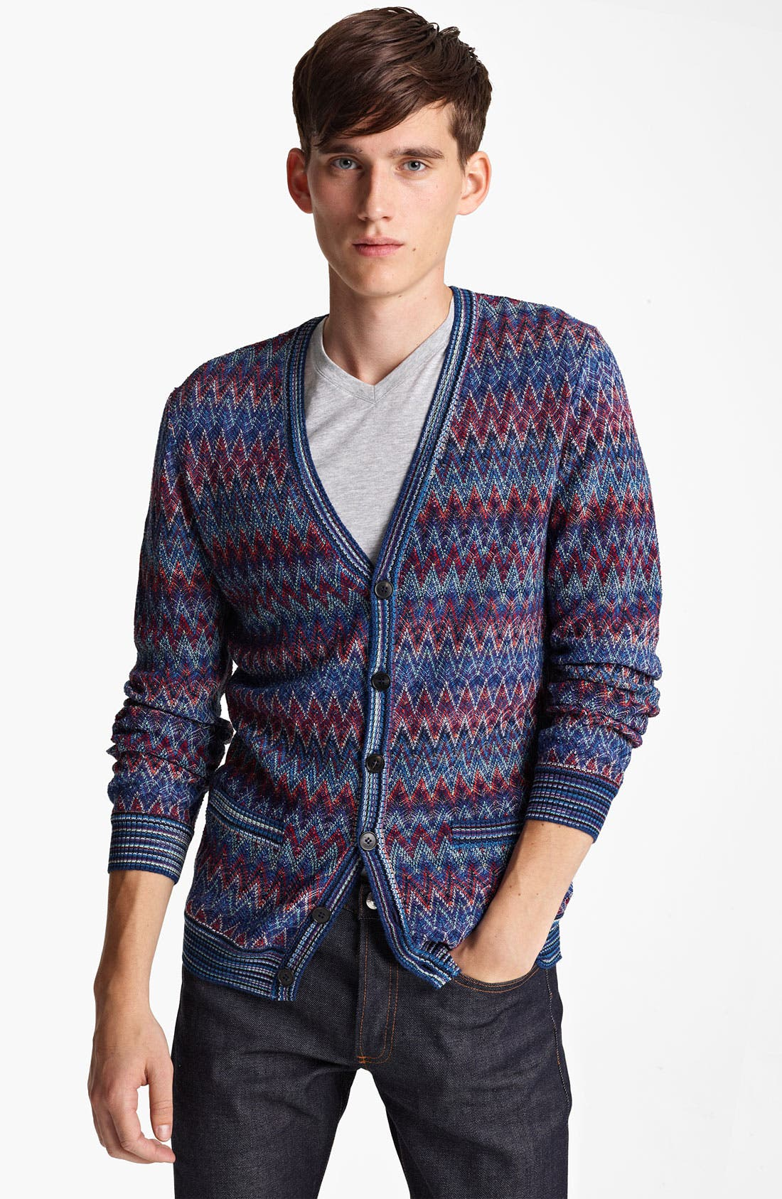 Alternate Image 1 Selected - Missoni Zigzag Pattern Cardigan