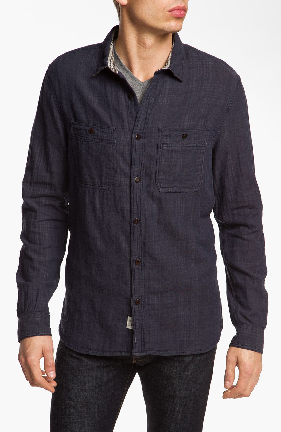 Alternate Image 1 Selected - Woolrich John Rich Double Weave Shirt