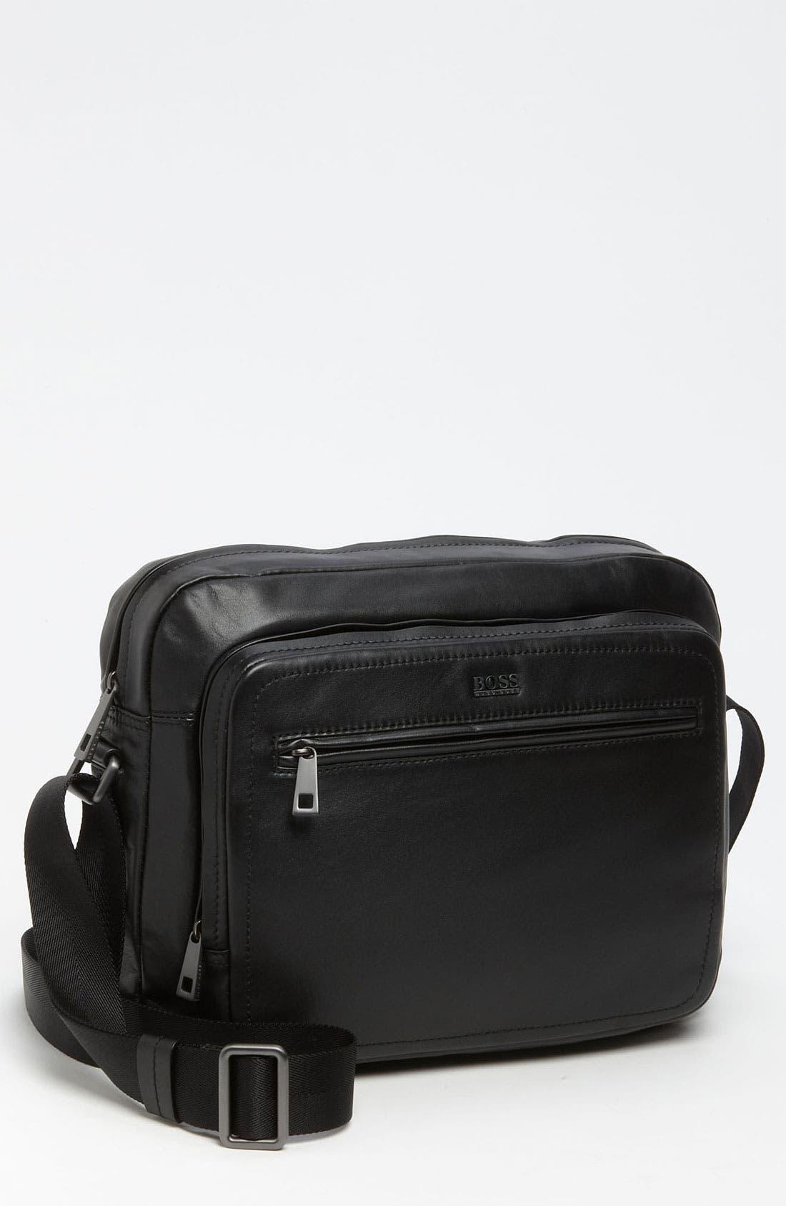 Alternate Image 1 Selected - BOSS Black 'Klondie' Messenger Bag