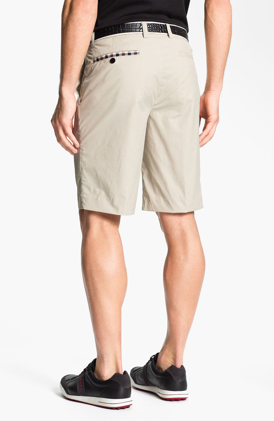 Alternate Image 2  - Aquascutum Golf 'Mash' Golf Shorts (Online Only)
