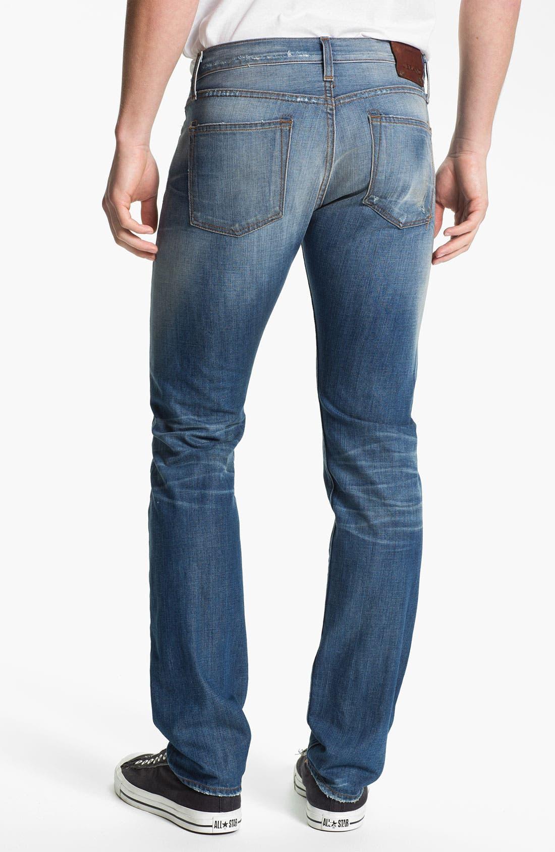 Alternate Image 2  - J Brand 'Tyler' Slim Straight Leg Jeans (Reckless)