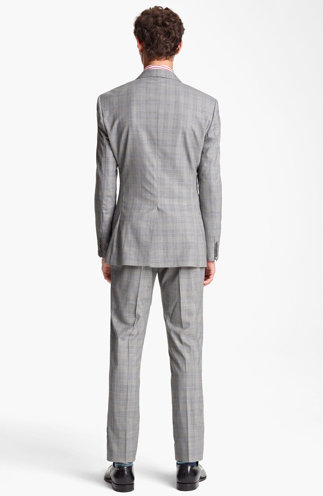 Alternate Image 3  - Paul Smith London Slim Fit Glen Plaid Wool Suit