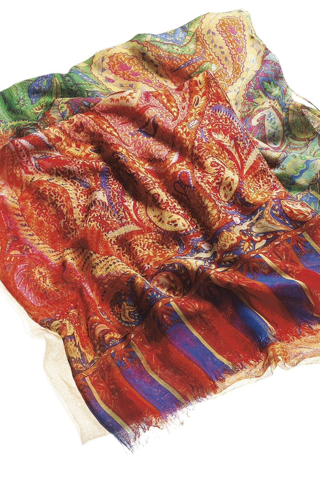 Alternate Image 2  - Tasha 'Polished Paisley' Scarf