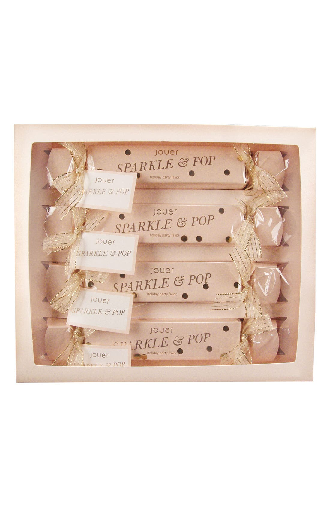 Alternate Image 2  - Jouer 'Sparkle & Pop' Holiday Popper Set (4-Pack)