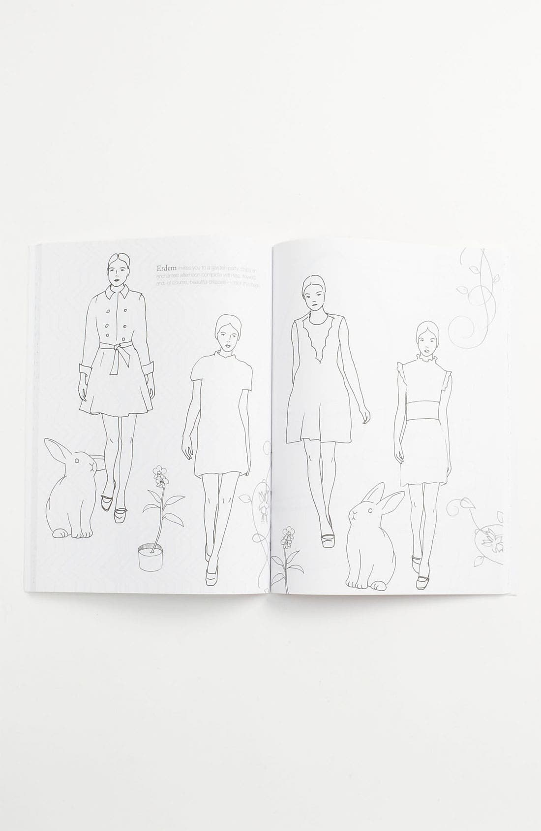 Alternate Image 2  - Carol + Lulu 'The Fashion Coloring Book' (Girls)