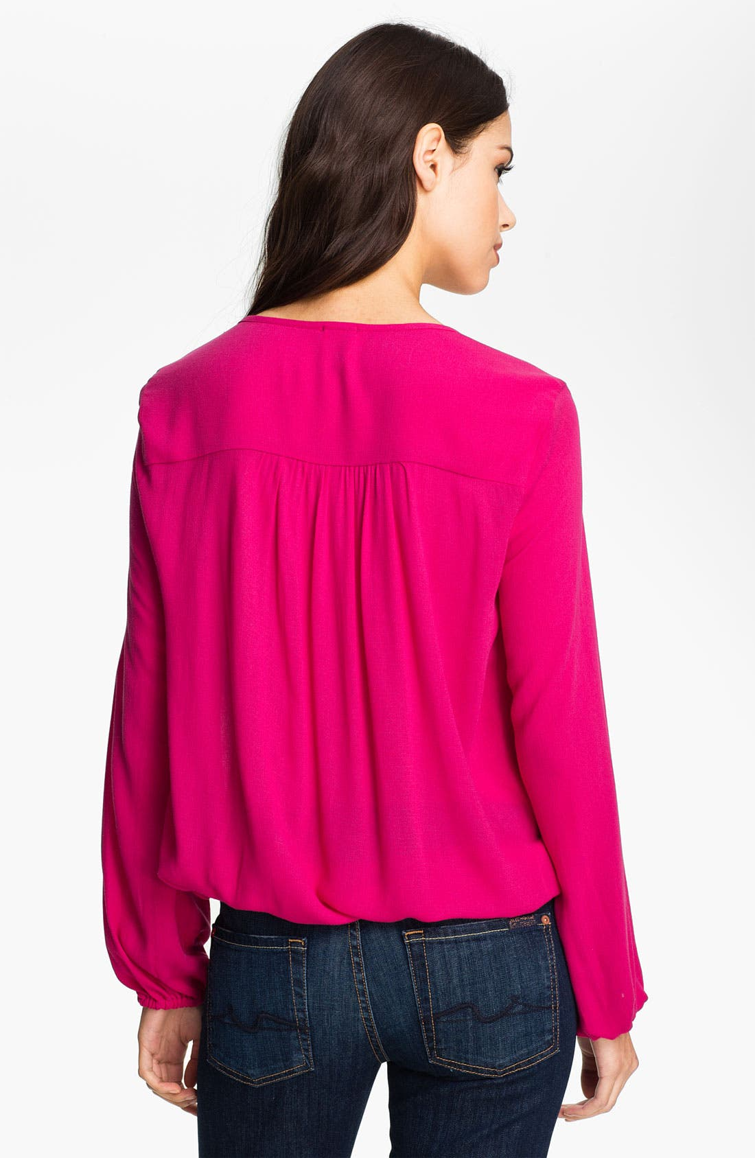 Alternate Image 2  - Ella Moss 'Stella' Tie Neck Surplice Top