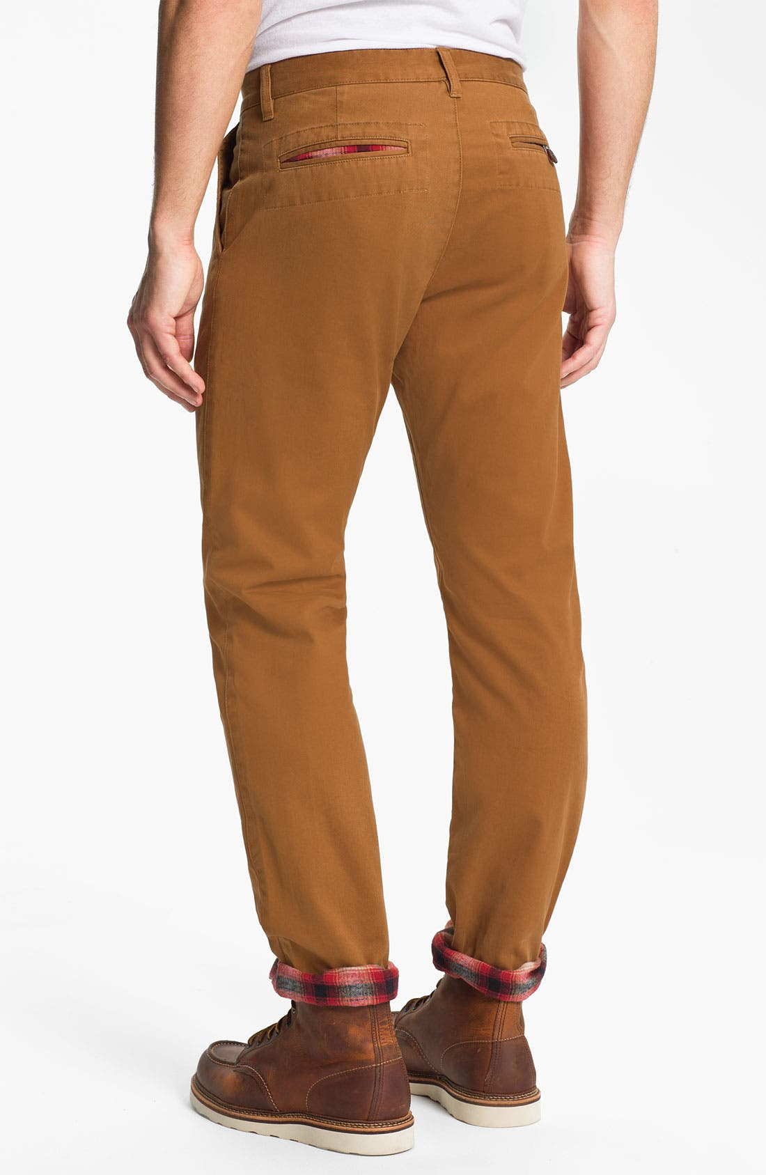 Alternate Image 2  - Toddland 'Shipwreck' Flannel Lined Straight Leg Pants