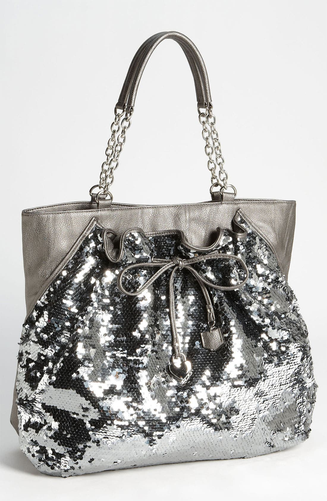 Alternate Image 1 Selected - bebe 'Unique Chic' Sequin Tote