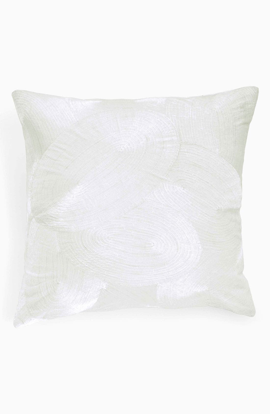 Alternate Image 1 Selected - Donna Karan 'Spiral' Silk & Velvet Pillow (Online Only)