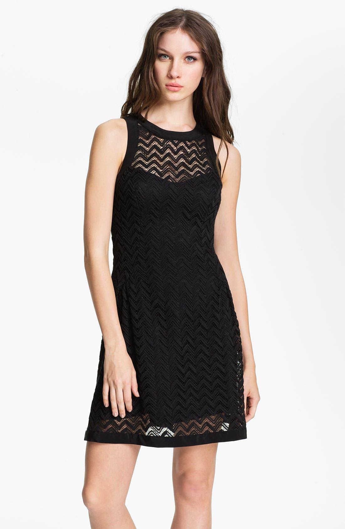 Main Image - Nanette Lepore 'Groovy' Knit Shift Dress