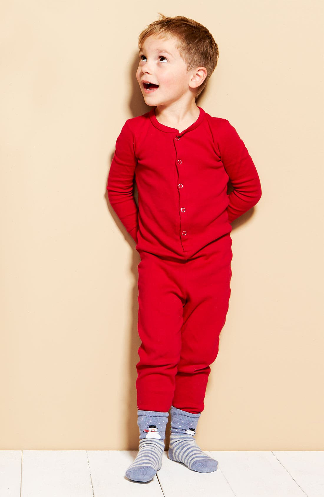 Alternate Image 2  - Tucker + Tate 'Union Suit' Pajamas (Toddler)
