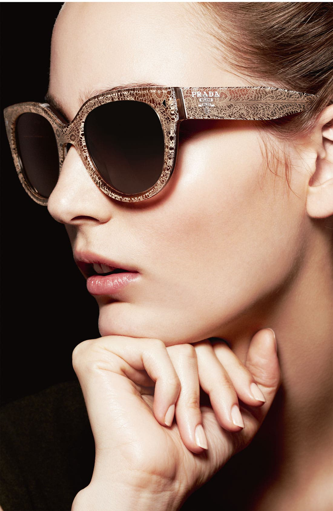 Alternate Image 2  - Prada 54mm Cat Eye Sunglasses