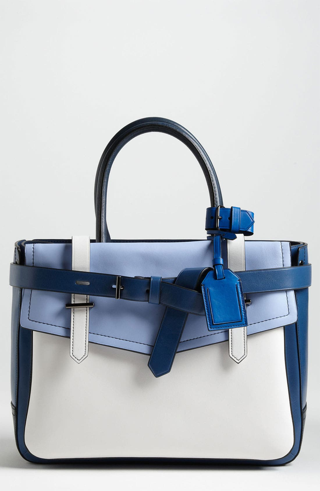 Main Image - Reed Krakoff 'Boxer' Colorblock Leather Satchel