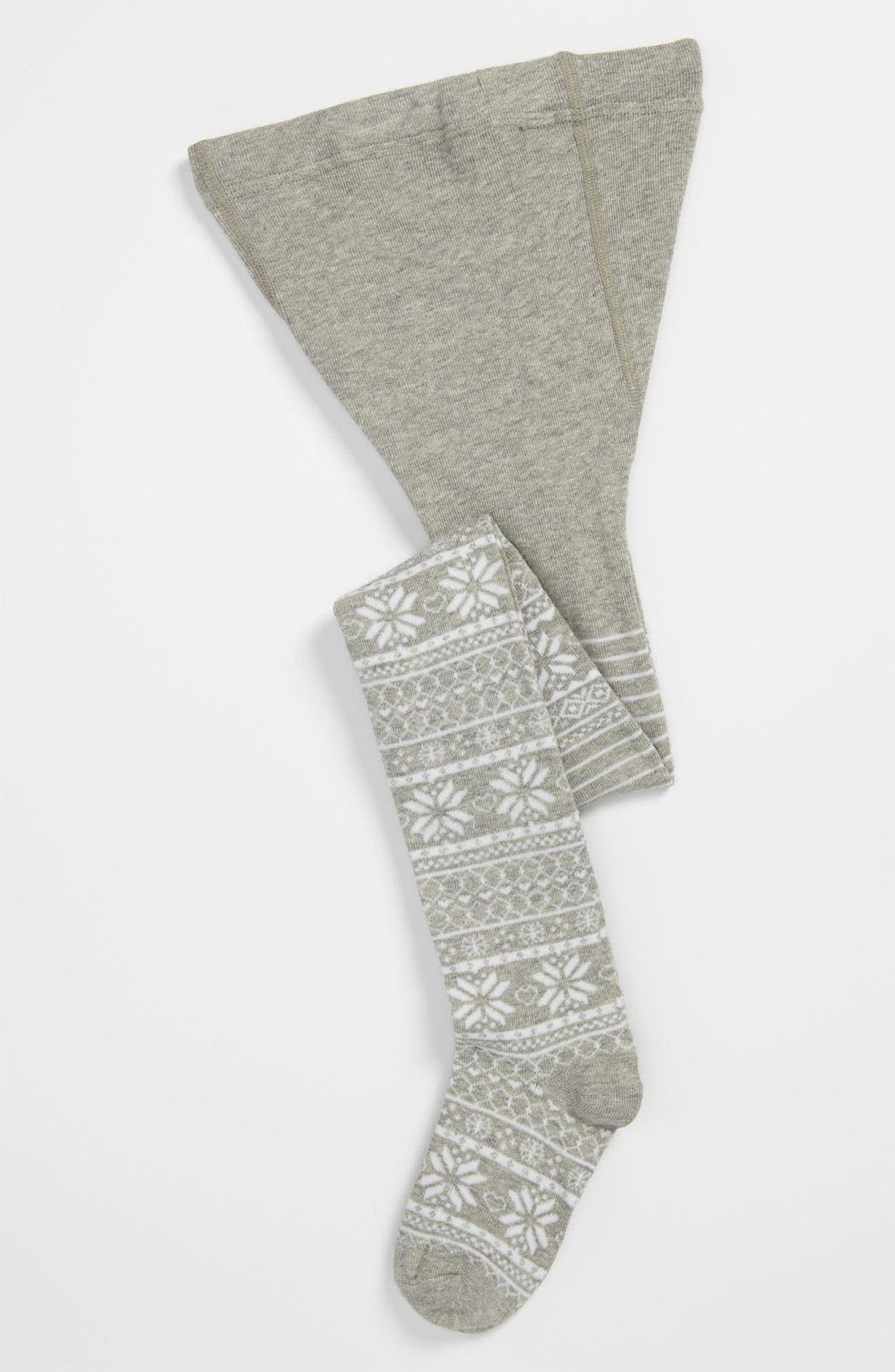 Main Image - Nordstrom Fair Isle Tights (Little Girls)