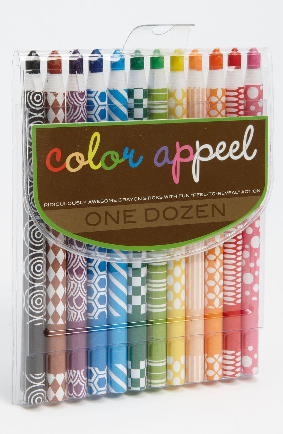 Main Image - International Arrivals 'Color Appeel' Crayon Sticks