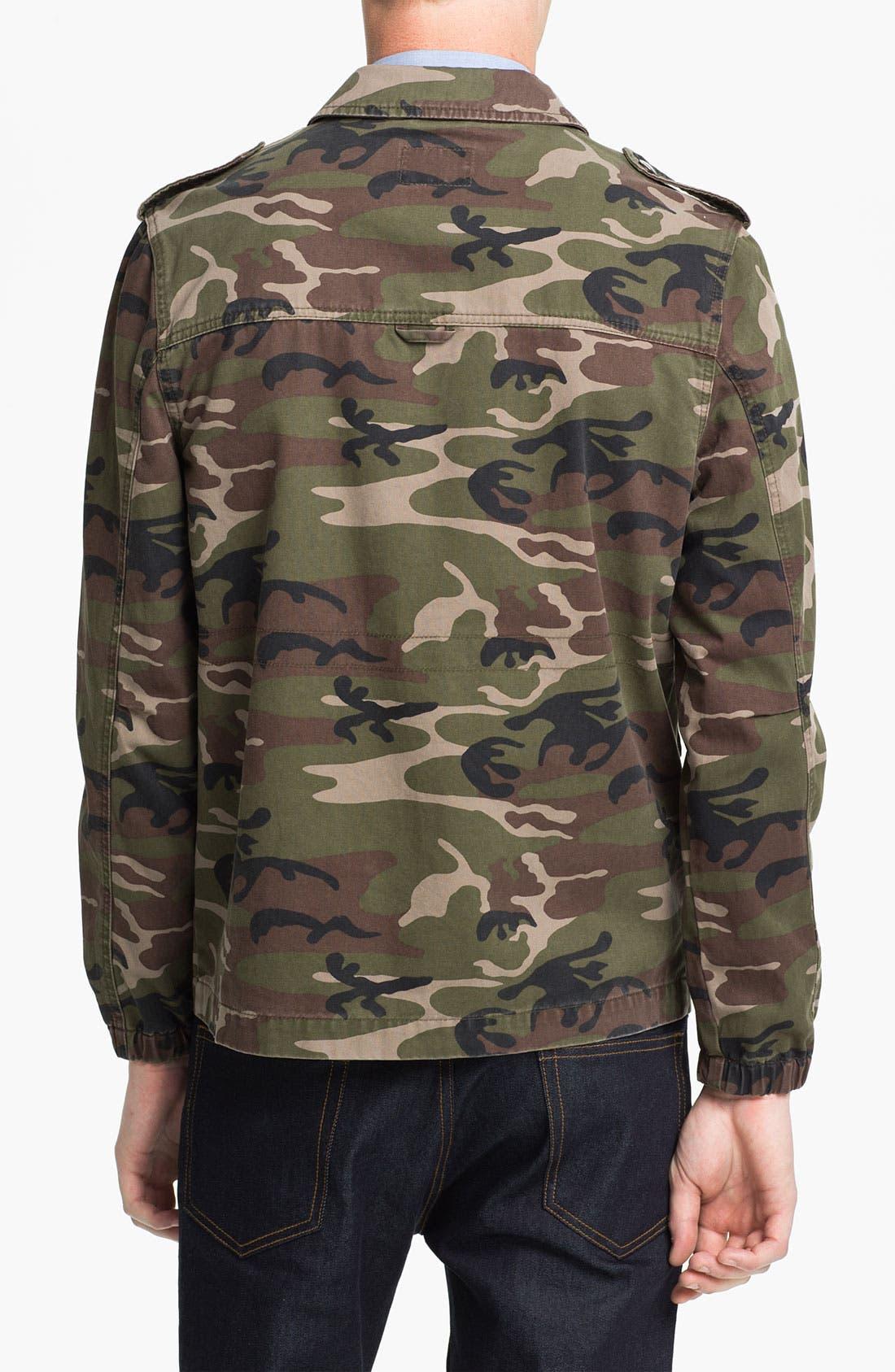 Alternate Image 2  - Topman 'Blenheim' Camo Field Jacket