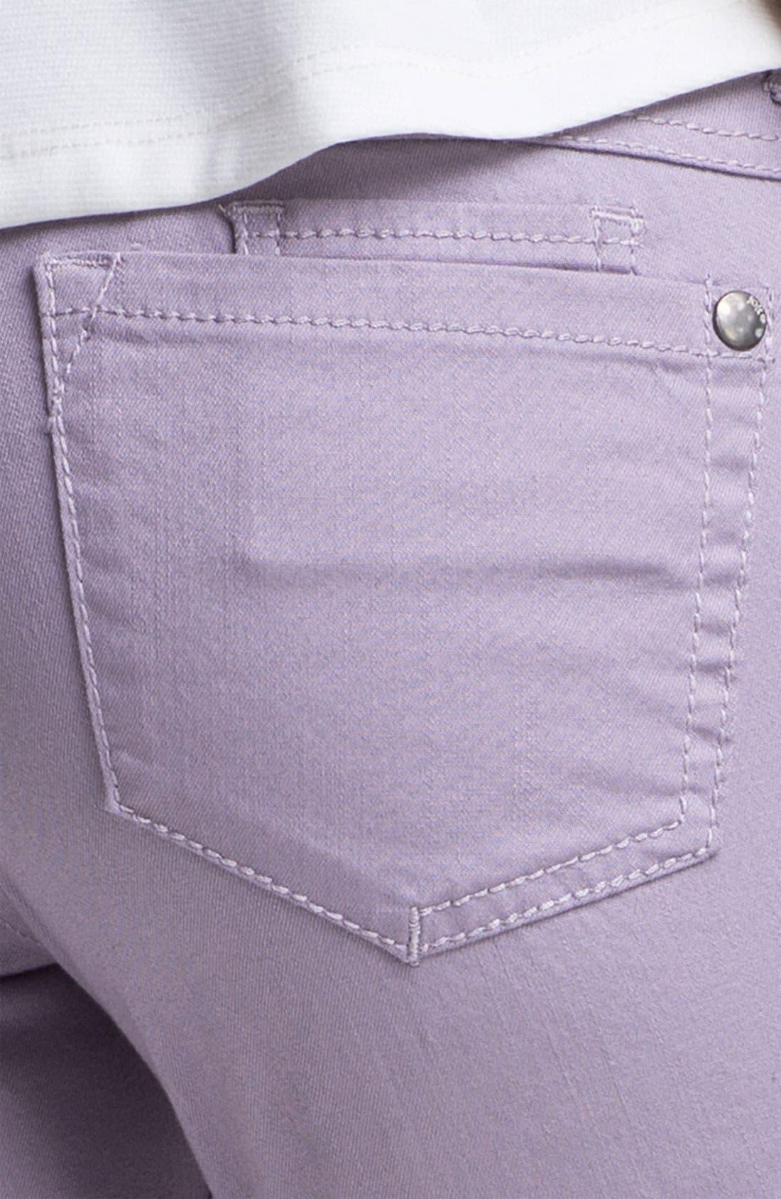 Alternate Image 3  - Jolt Colored Stretch Denim Skinny Jeans (Juniors)