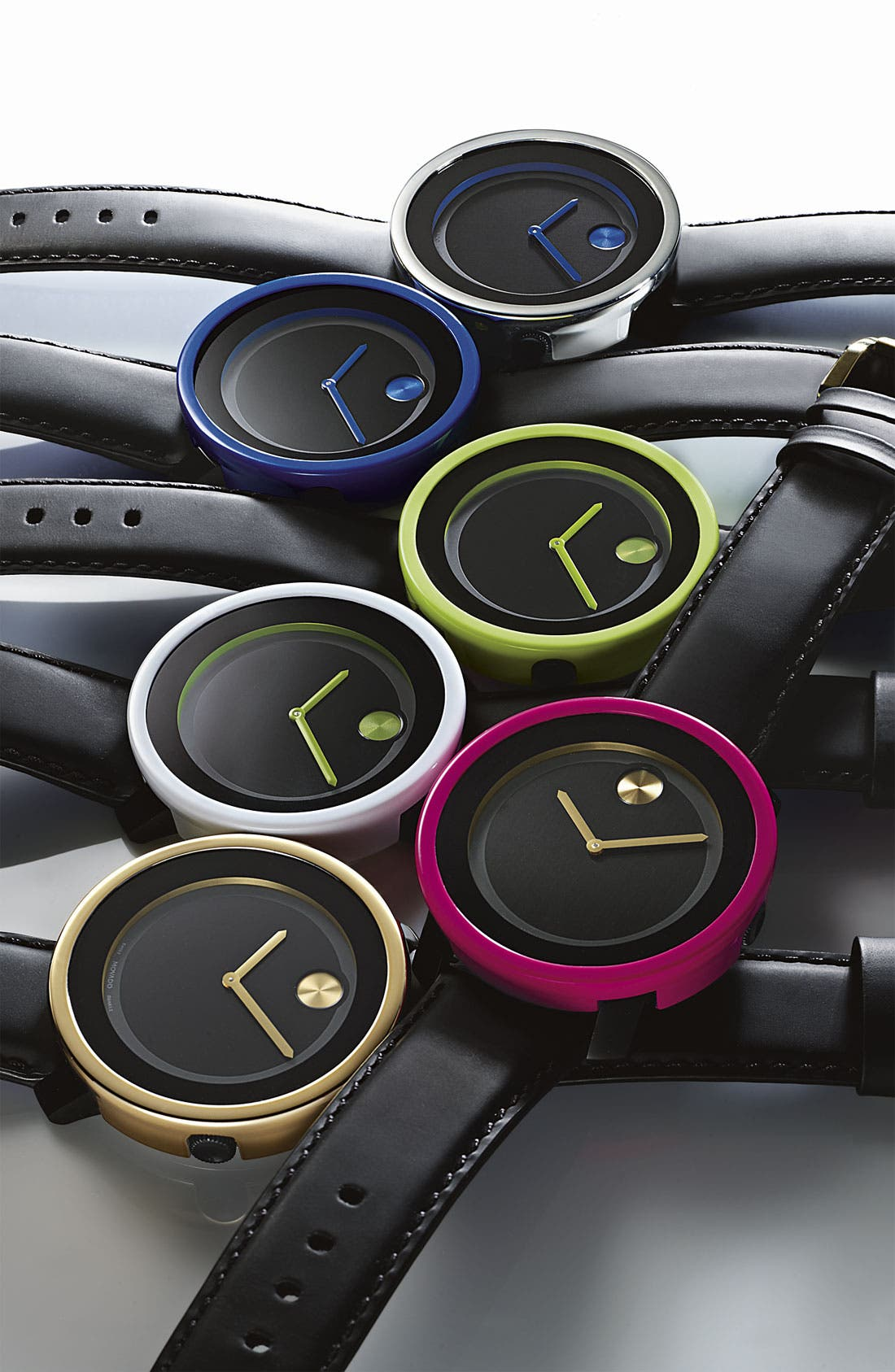 Alternate Image 3  - Movado 'Bold' Metallic Watch Case Cover
