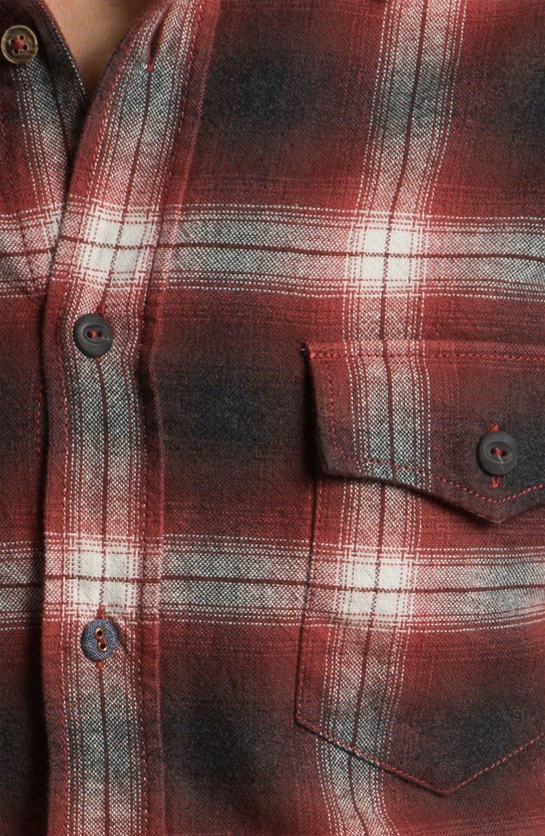 Alternate Image 3  - BOSS Orange 'Eddaiee' Plaid Flannel Shirt