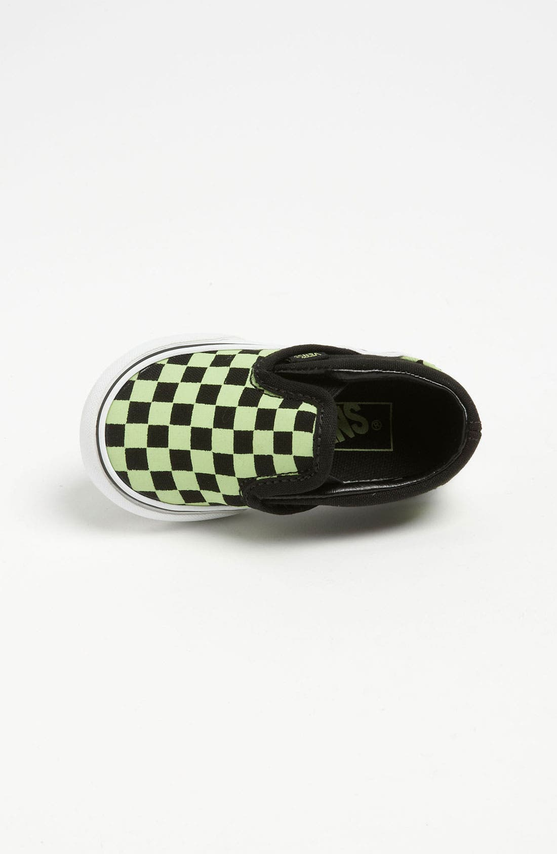 Alternate Image 3  - Vans 'Classic Checker - Glow in the Dark' Slip-On (Baby, Walker & Toddler)