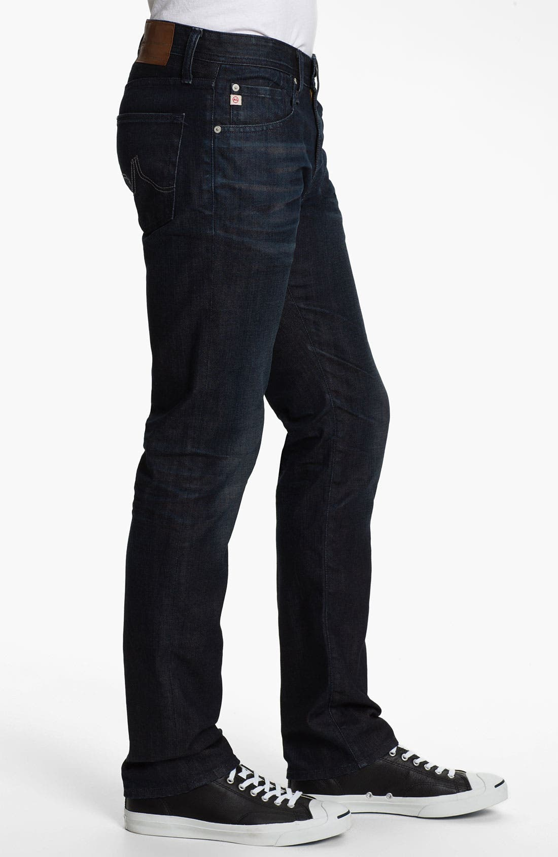 Alternate Image 3  - AG 'Matchbox' Slim Fit Jeans (3 Year Tonal)
