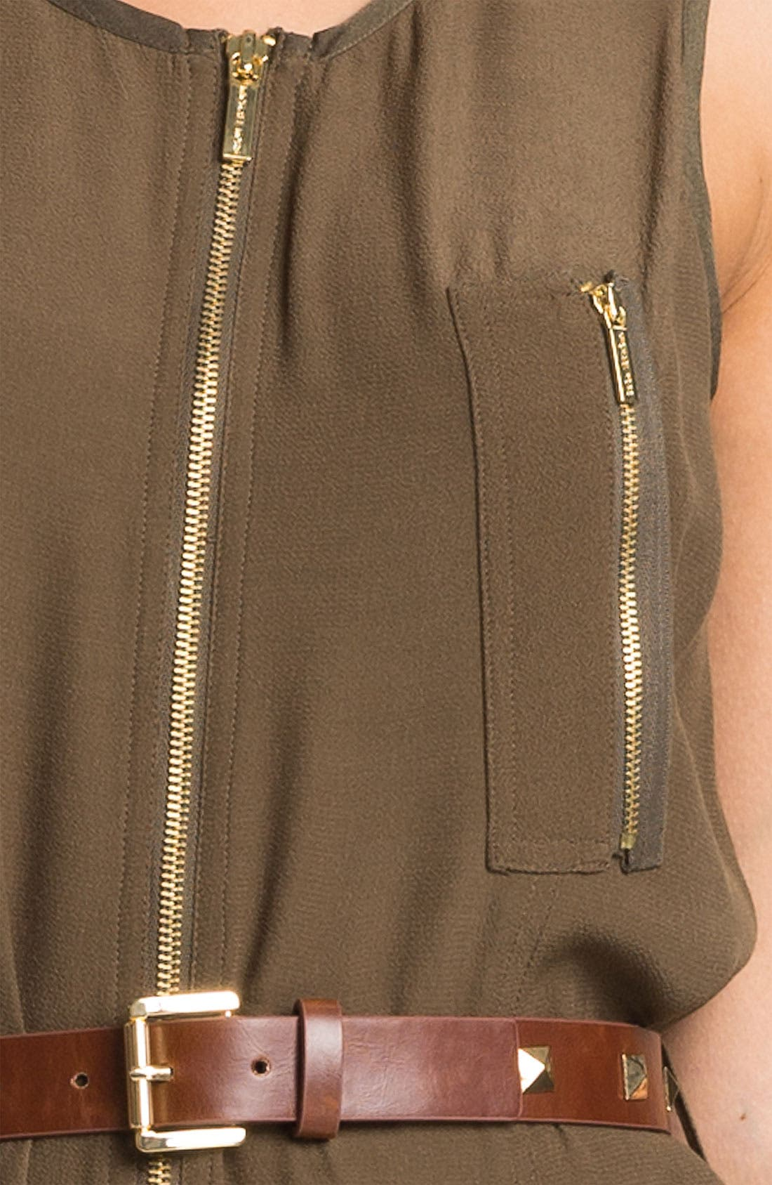 Alternate Image 3  - MICHAEL Michael Kors Cargo Dress