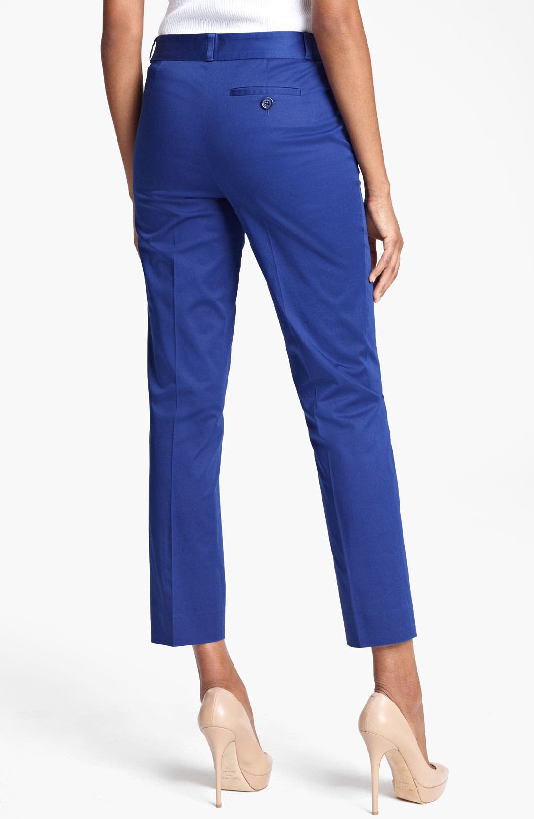 Alternate Image 2  - Moschino Cheap & Chic Flat Front Crop Pants