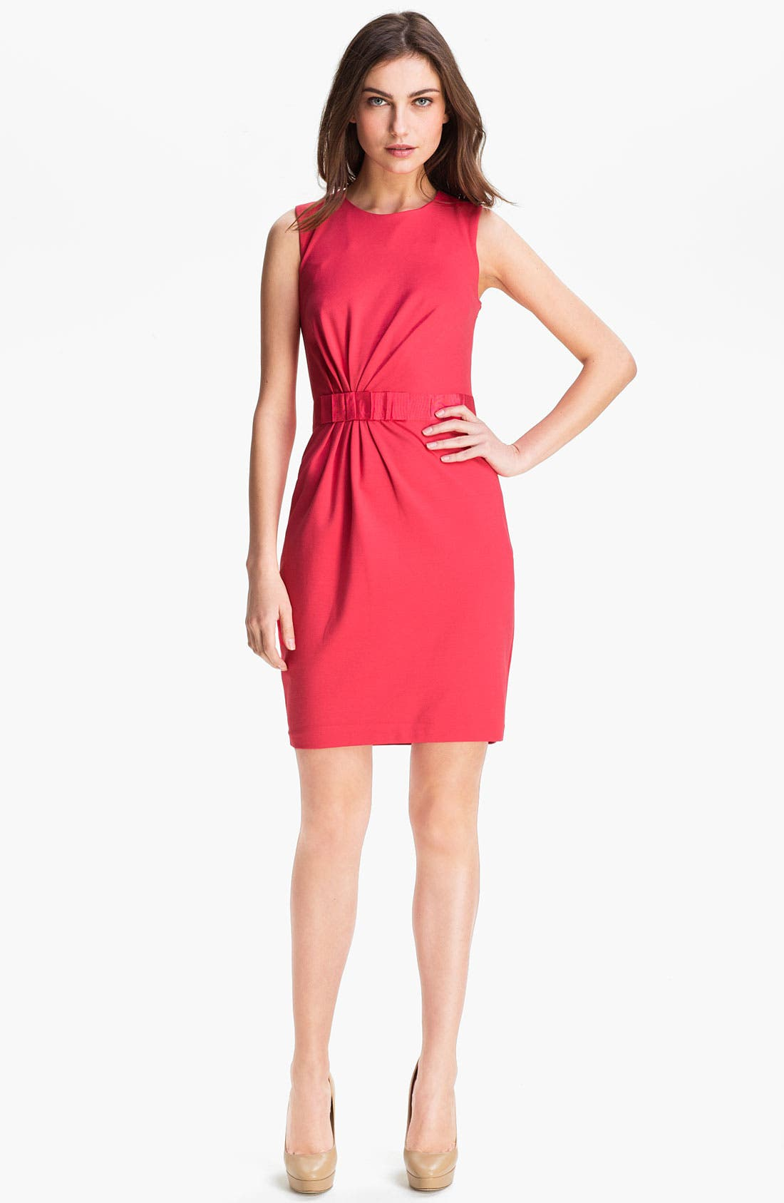 Alternate Image 1 Selected - Ted Baker London Stretch Knit Sheath Dress