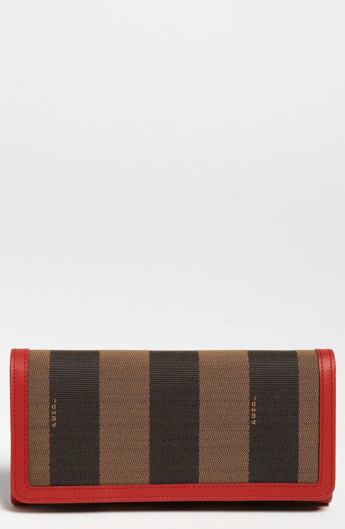 Alternate Image 1 Selected - Fendi 'Pequin' Continental Wallet
