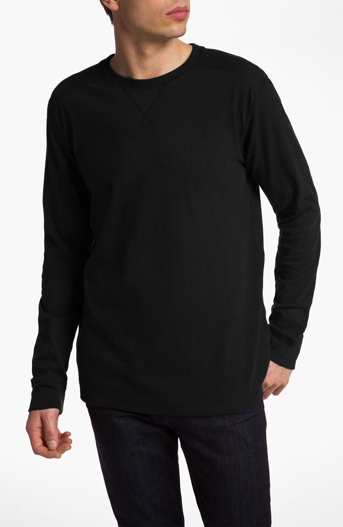 Main Image - Quiksilver 'Snit' Long Sleeve Thermal T-Shirt