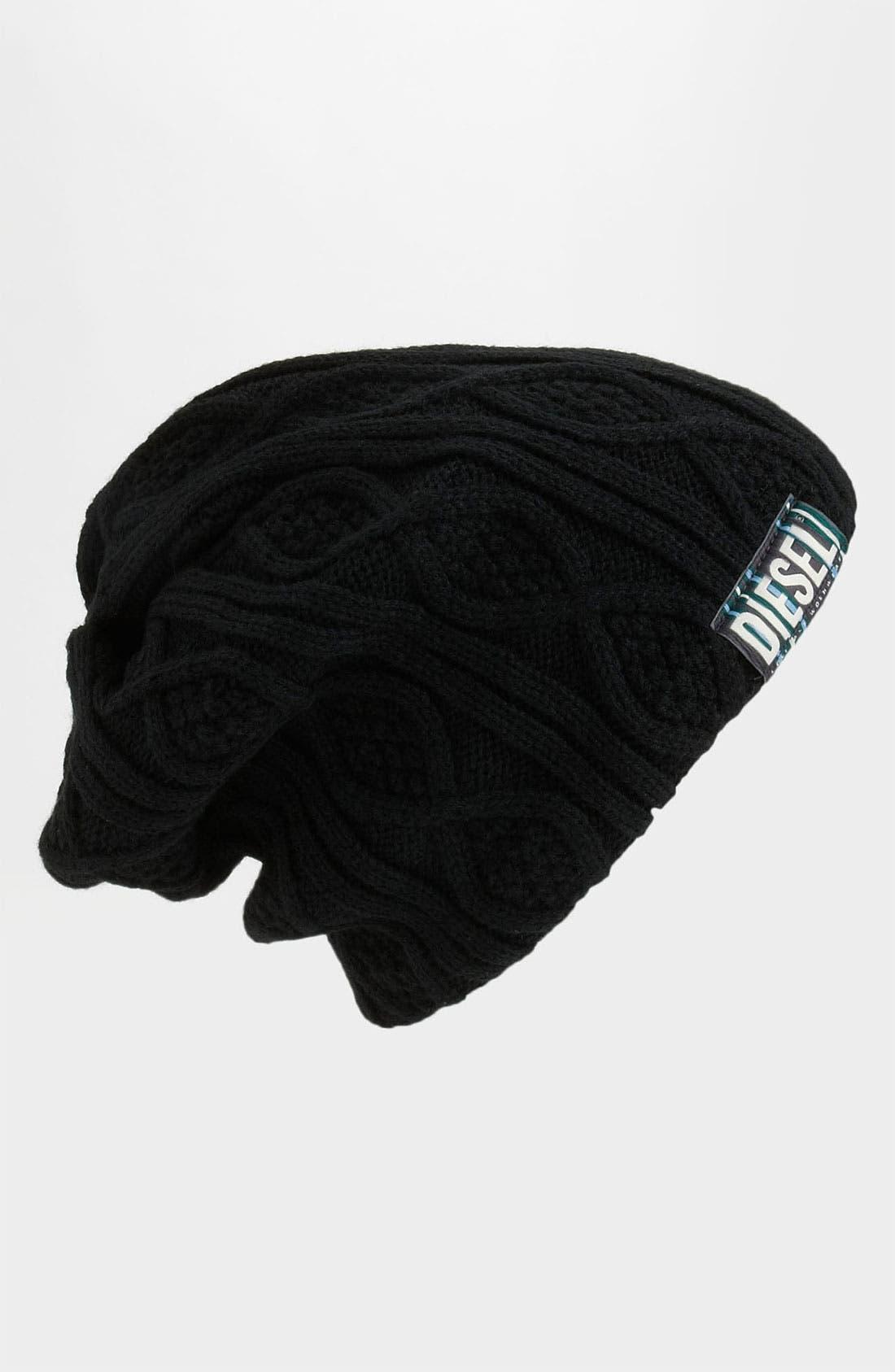 Alternate Image 1 Selected - DIESEL® 'Krissyet' Cable Knit Cap