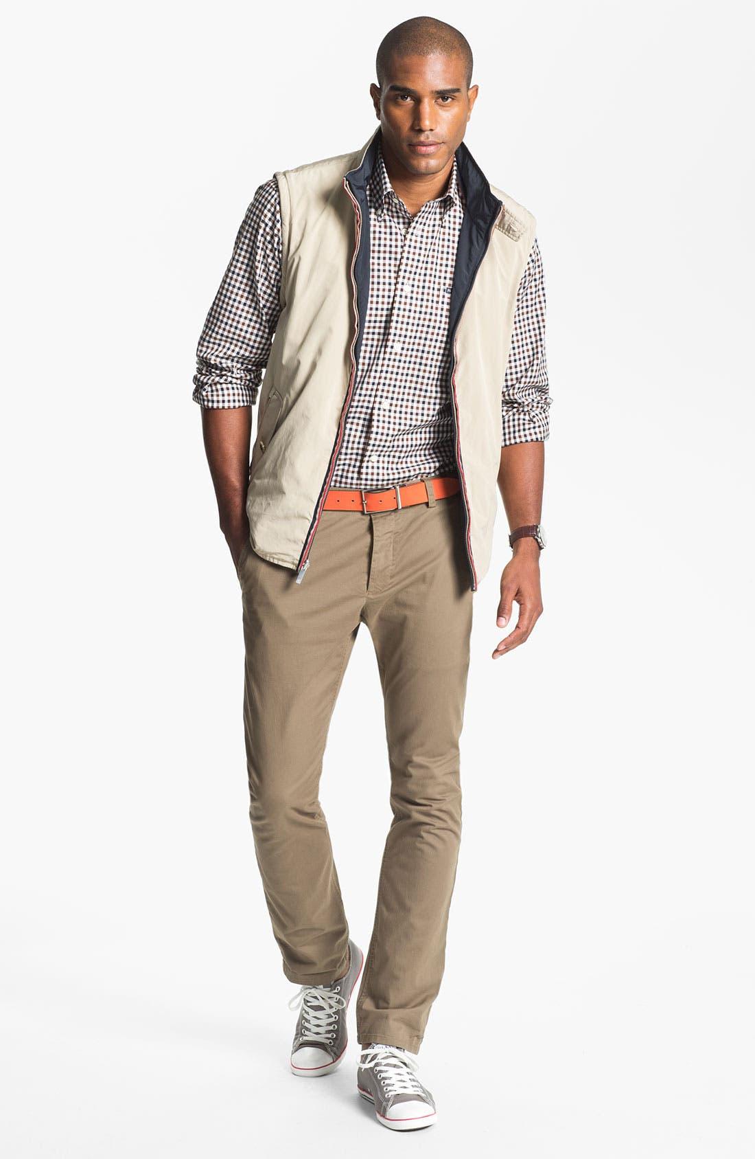 Alternate Image 5  - Façonnable Reversible Quilted Vest