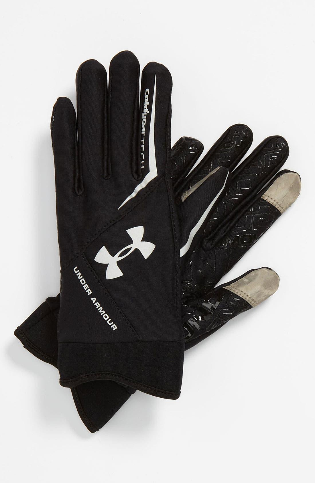 Main Image - Under Armour ColdGear® Tech Gloves