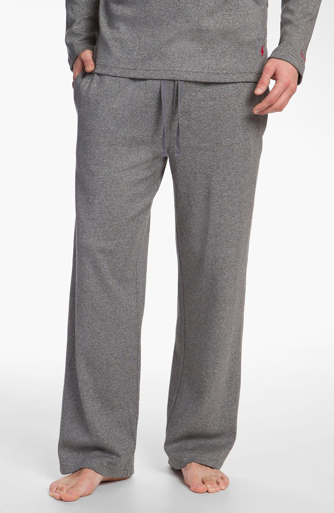 Alternate Image 1 Selected - Polo Ralph Lauren Cotton & Modal Lounge Pants