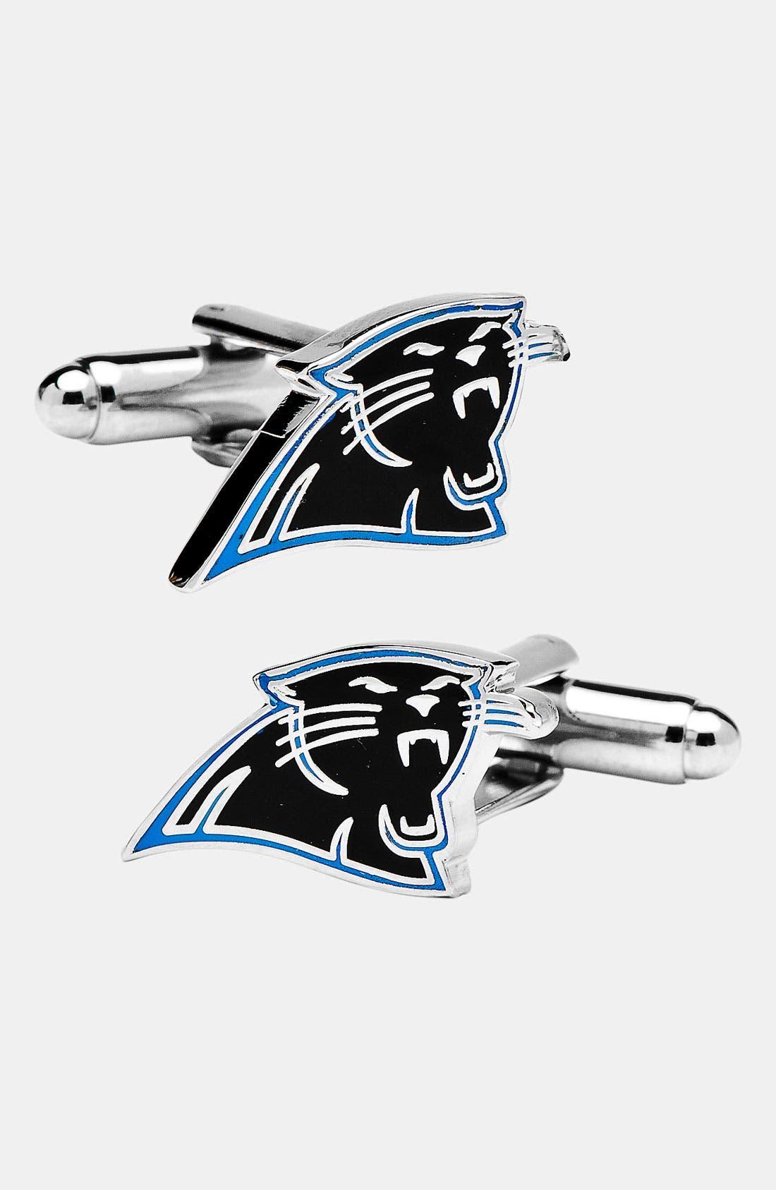 Alternate Image 1 Selected - Cufflinks, Inc. 'Carolina Panthers' Cuff Links
