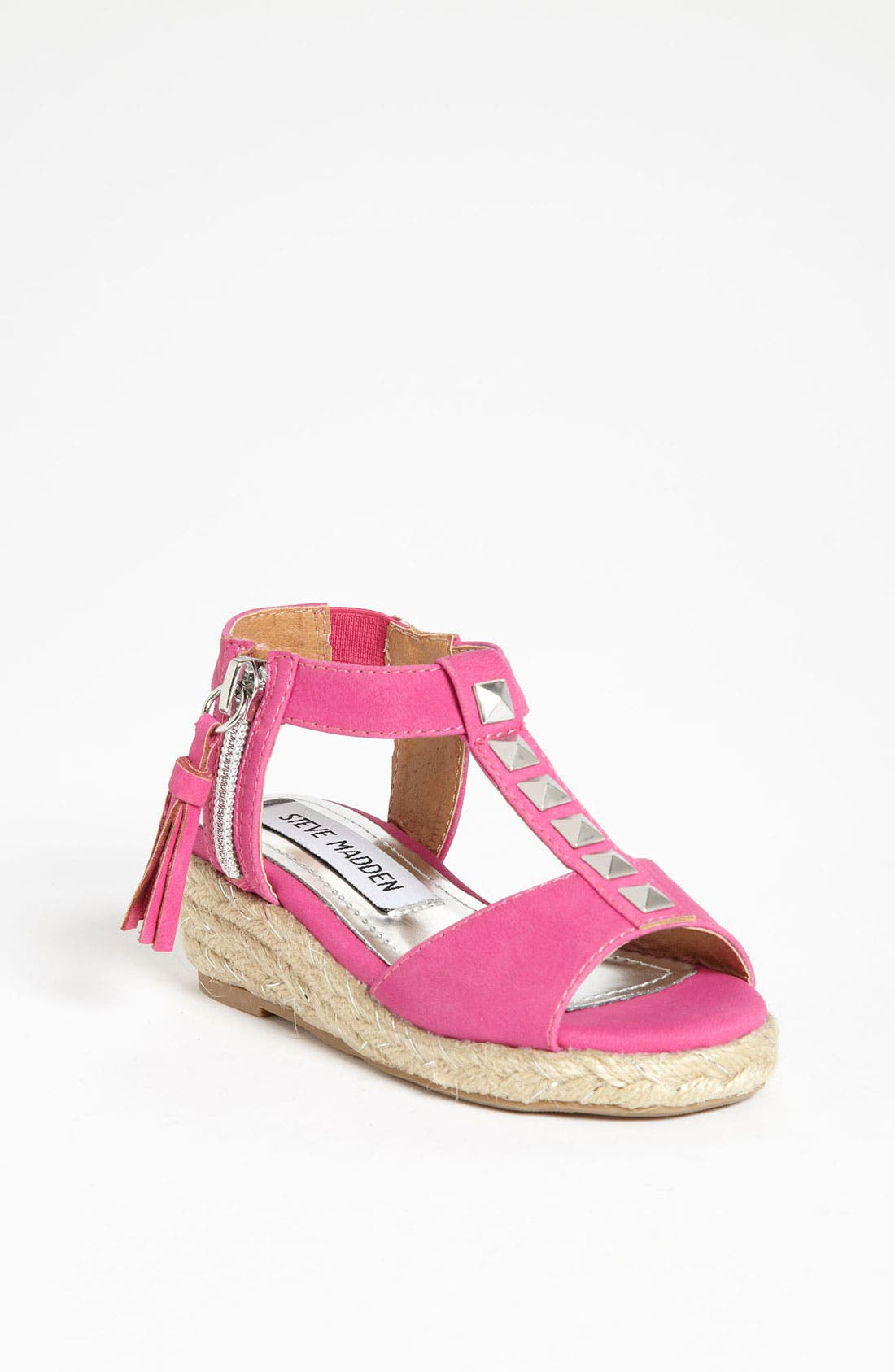 Alternate Image 1 Selected - Steve Madden 'Camile' Wedge (Toddler, Little Kid & Big Kid)