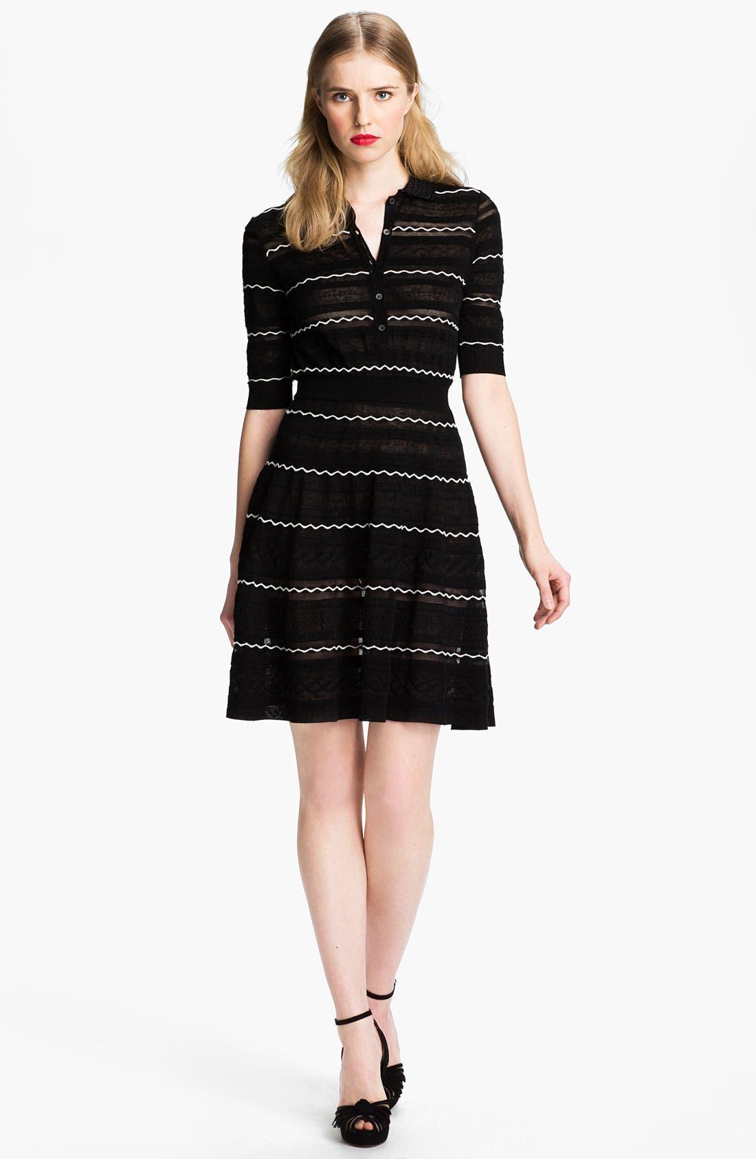 Main Image - M Missoni Henley Dress