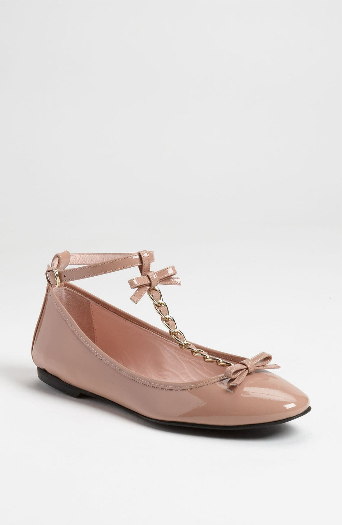 Alternate Image 1 Selected - RED Valentino T-Strap Flat