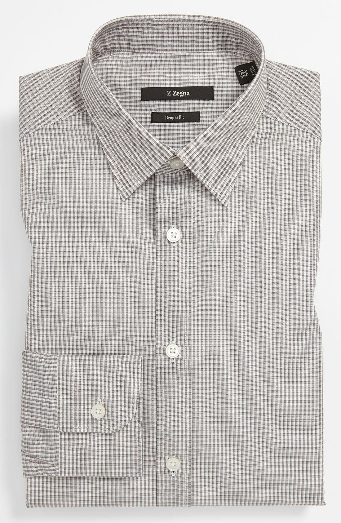 Main Image - Z Zegna Trim Fit Dress Shirt