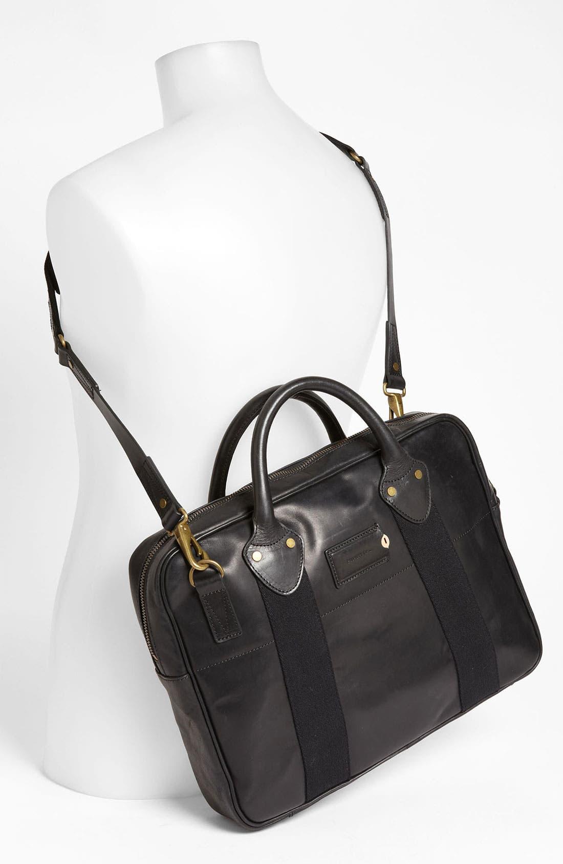 Alternate Image 4  - Property Of... 'Reuben' Leather Briefcase