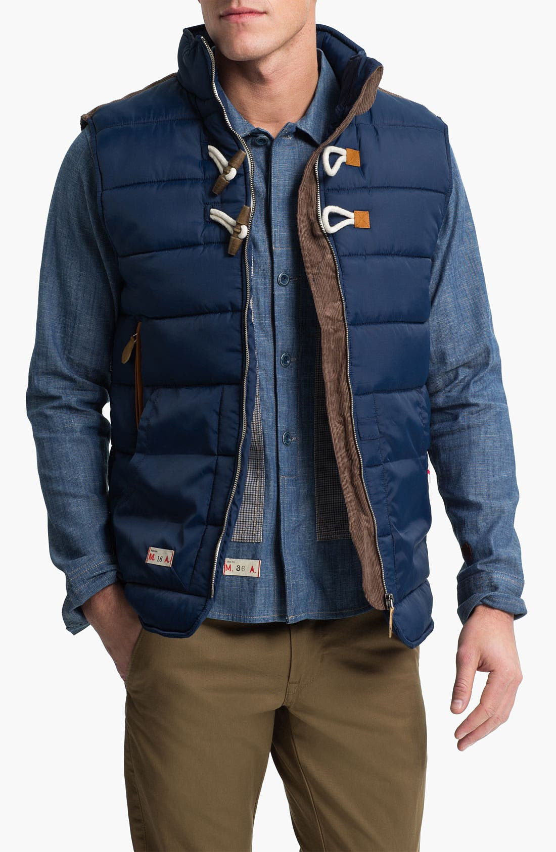 Main Image - Marshall Artist Tailored Quilted Vest