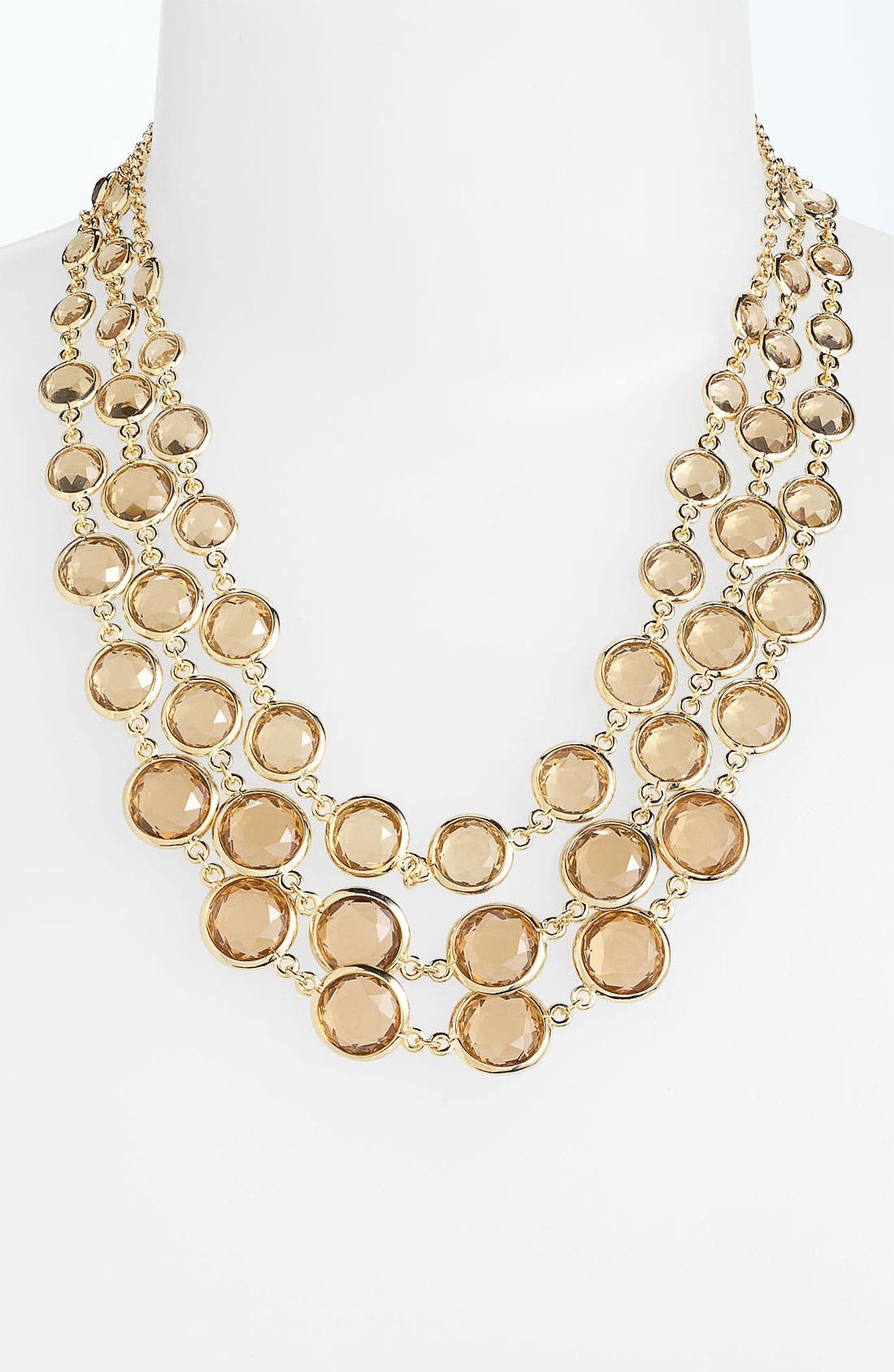 Alternate Image 1 Selected - Anne Klein Bib Necklace