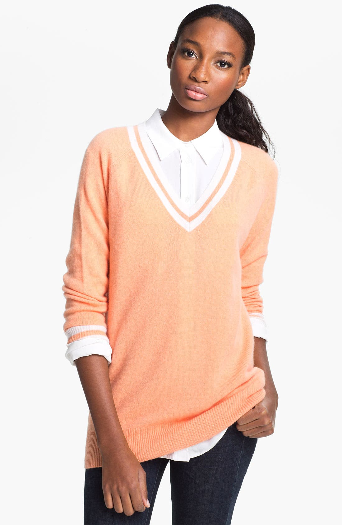 Alternate Image 1 Selected - Equipment 'Asher' Cashmere Sweater