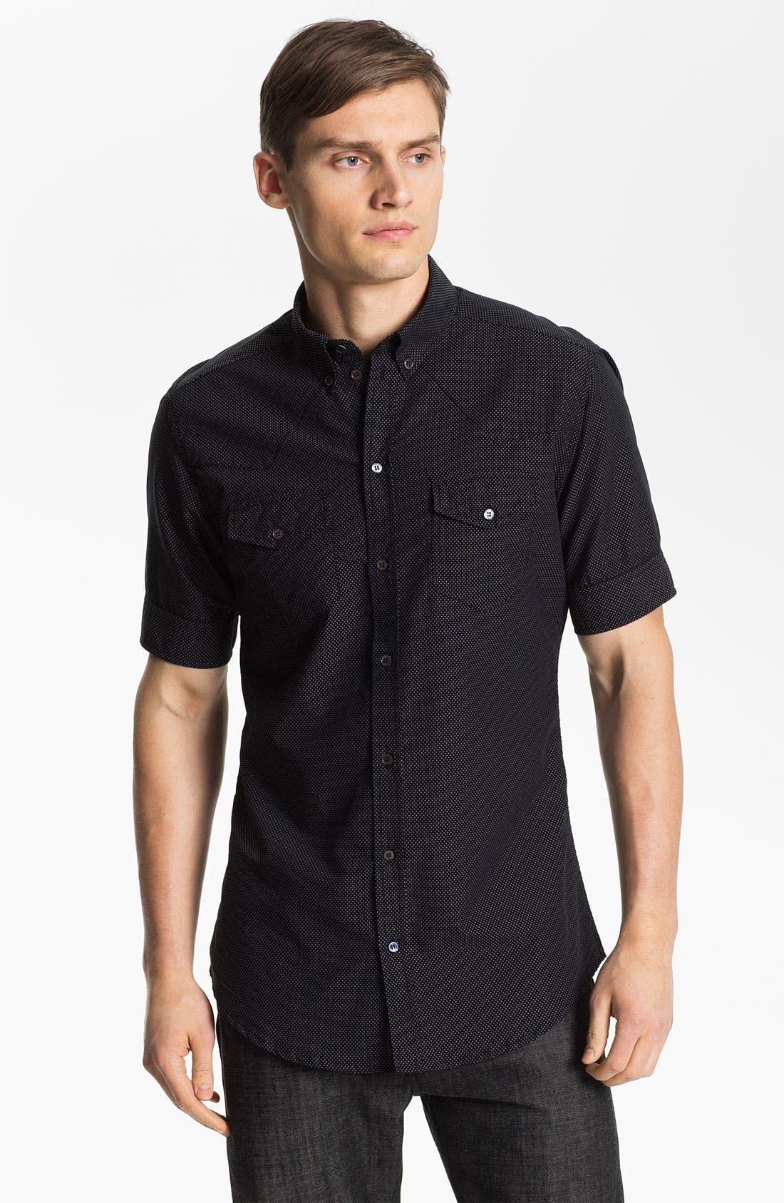 Main Image - Dolce&Gabbana Pin Dot Woven Shirt