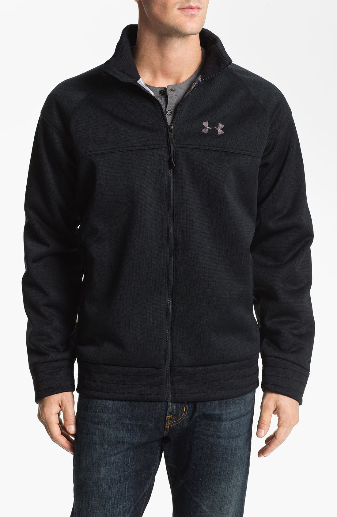 Alternate Image 1 Selected - Under Armour 'Swagger Storm' Wind Jacket