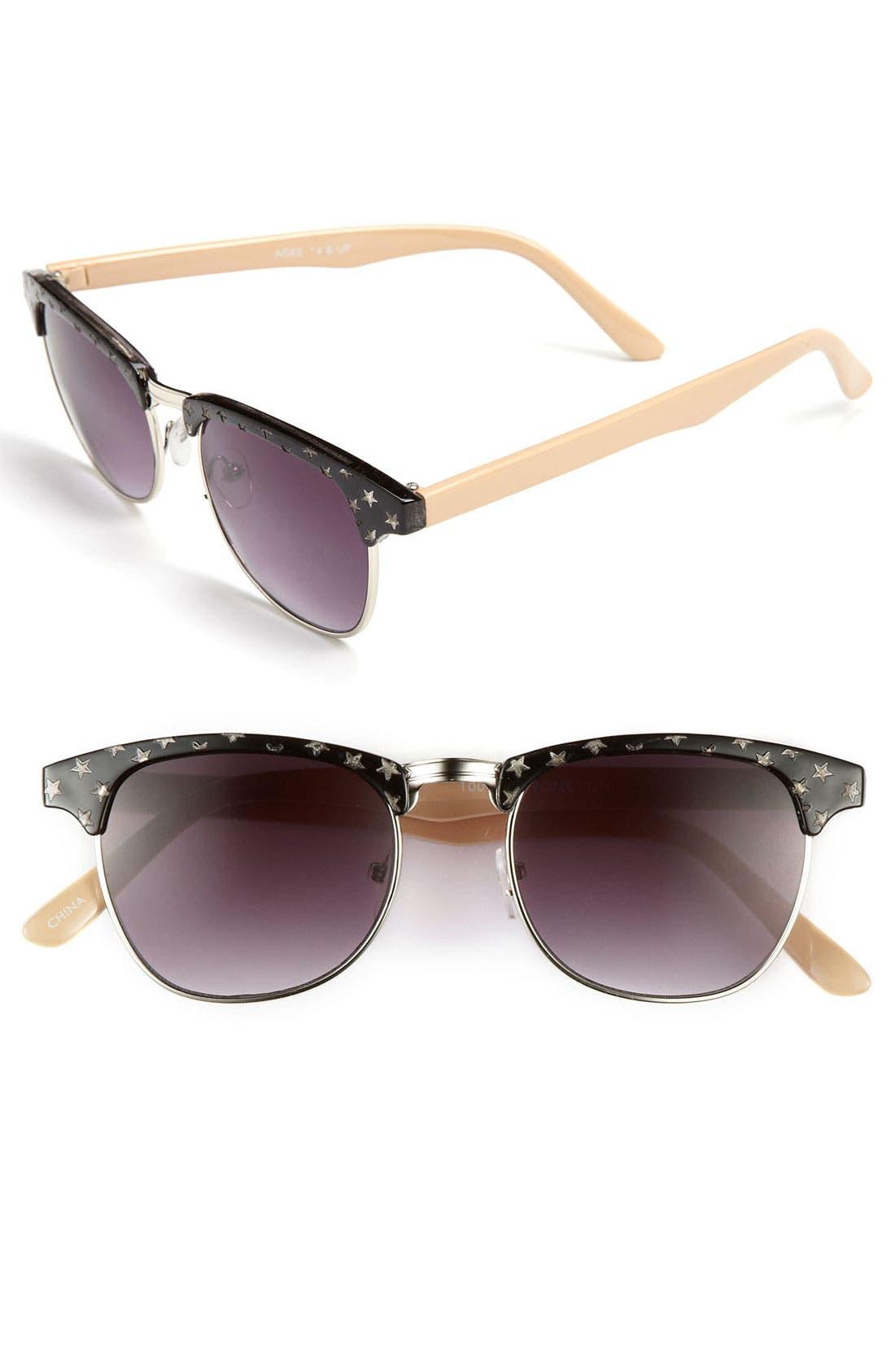Alternate Image 1 Selected - FE NY 'Star' Sunglasses