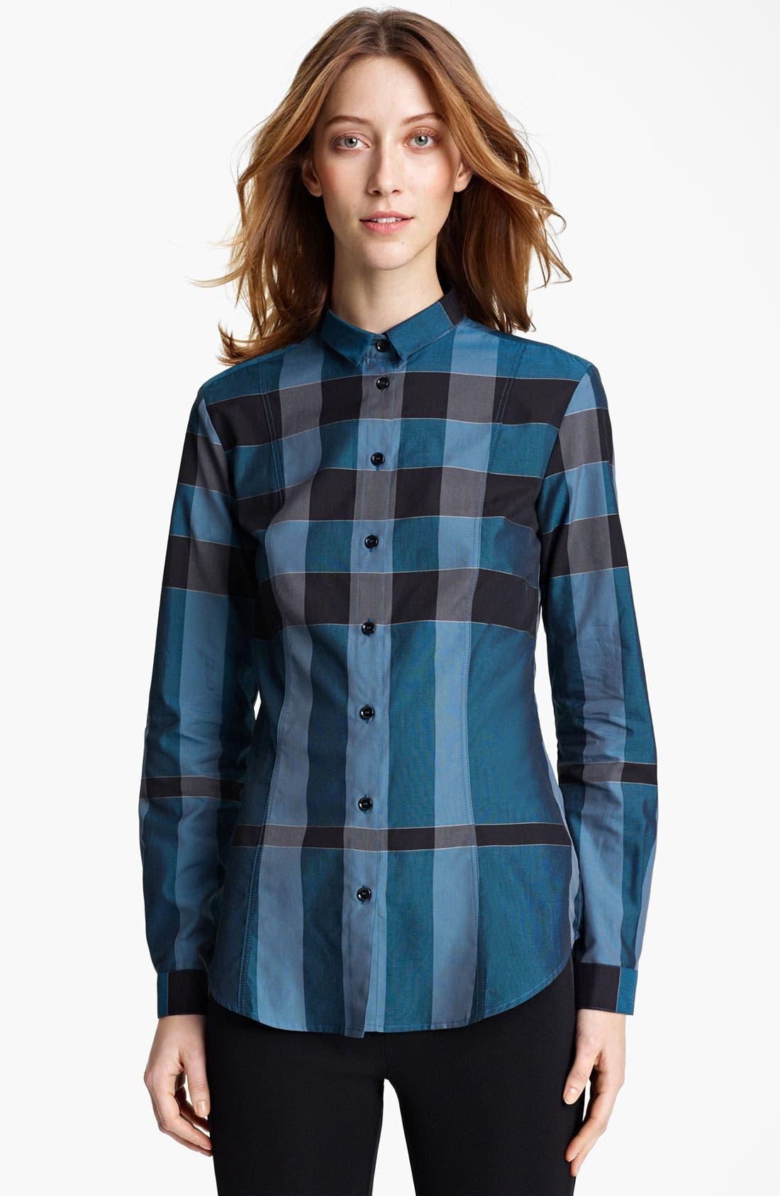 Alternate Image 1 Selected - Burberry London Check Shirt