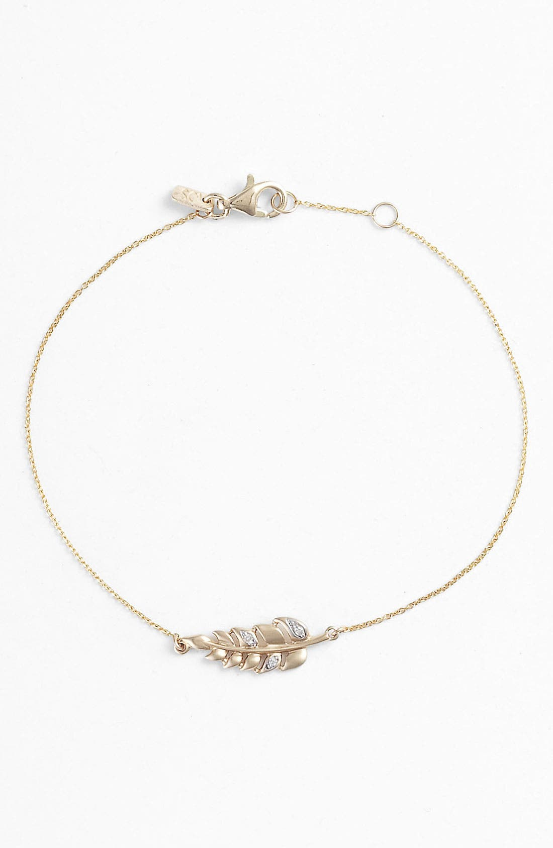 Alternate Image 1 Selected - Whitney Stern Leaf Bracelet